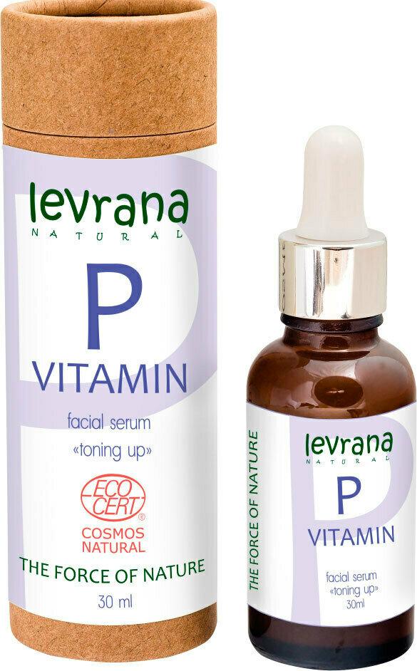 LEVRANA Сыворотка для лица Витамин Р, 30мл