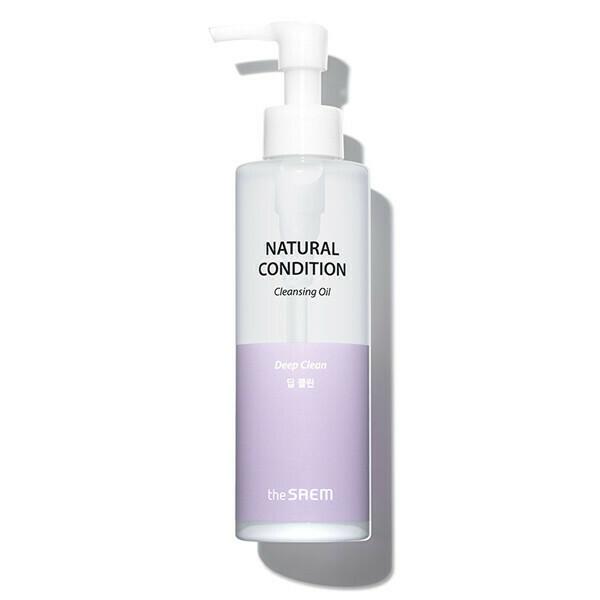 СМ Natural Condition Масло для лица гидрофильное Natural Condition Cleansing Oil [Deep Clean] 180мл
