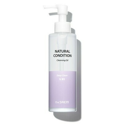 СМ Natural Condition Масло для лица гидрофильное Natural Condition Cleansing Oil [Deep Clean] 180мл