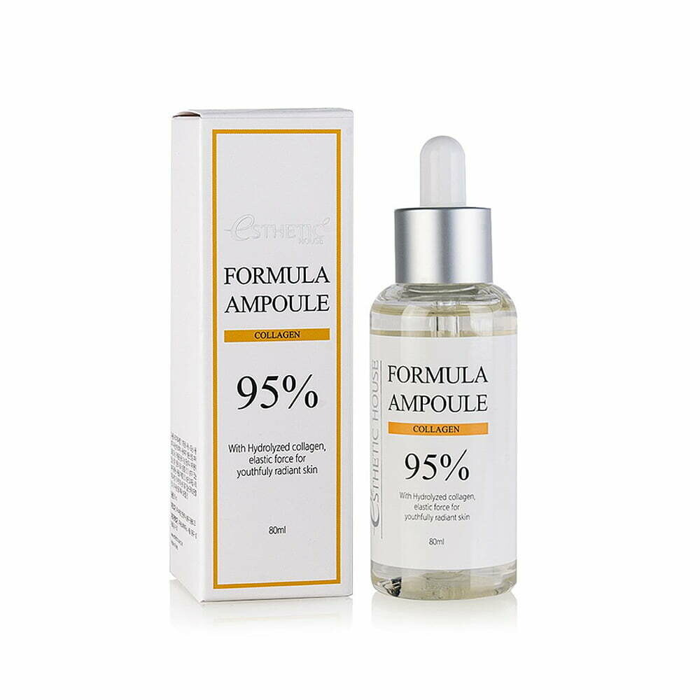 ESTHETIC HOUSE Сыворотка для лица КОЛЛАГЕН Formula Ampoule Collagen, 80 мл