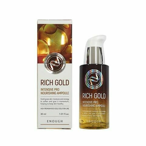 ENOUGH Сыворотка Rich Gold Intensive Pro Nourishing Ampoule, 30 мл.