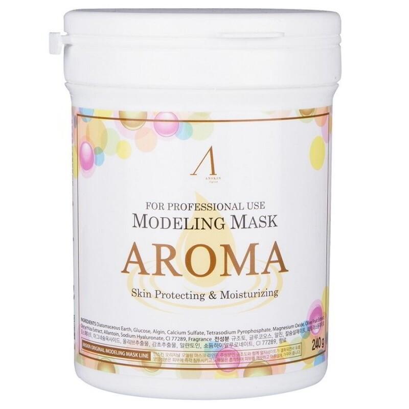 ANSKIN Маска альгинатная антивозрастная питат. (банка) Aroma Modeling Mask