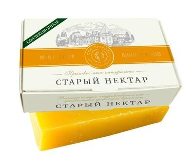 Дом природы Крымское мыло натуральное СТАРЫЙ НЕКТАР с винными α-гидроксикислотами и витамином Е