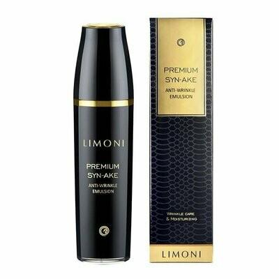 Limoni Premium Syn-Ake Anti-Wrinkle Emulsion Антивозрастная эмульсия для лица с пептидом змеиного яда