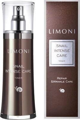 Limoni Snail Intense Care Toner тонер Интенсивный для лица с экстрактом секреции улитки