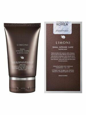 Limoni Интенсивная ночная маска с экстрактом секреции улитки  50 мл