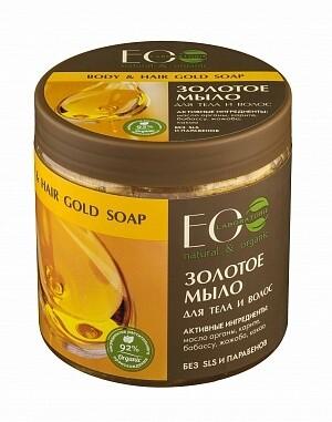 EcoLab Мыло для тела и волос Золотое