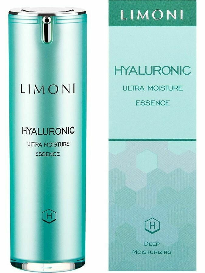 Limoni Эссенция ультраувлажняющая для лица с гиалуроновой кислотой  Hyaluronic Ultra Moisture Essence 30 ml