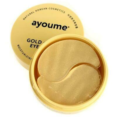 АЮМ Патчи для глаз омолаживающие с золотом и улиточным муцином  AYOUME GOLD+SNAIL EYE PATCH 1,4гр*60