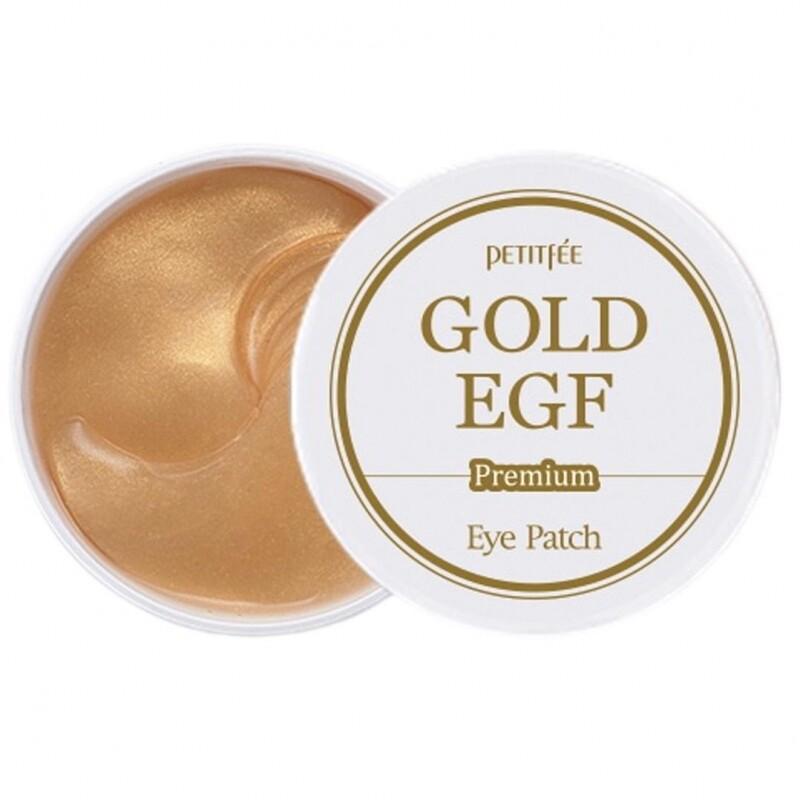 PETITFEE Патчи для глаз с золотом PETITFEE Gold & EGF Eye Patch, 60 шт.