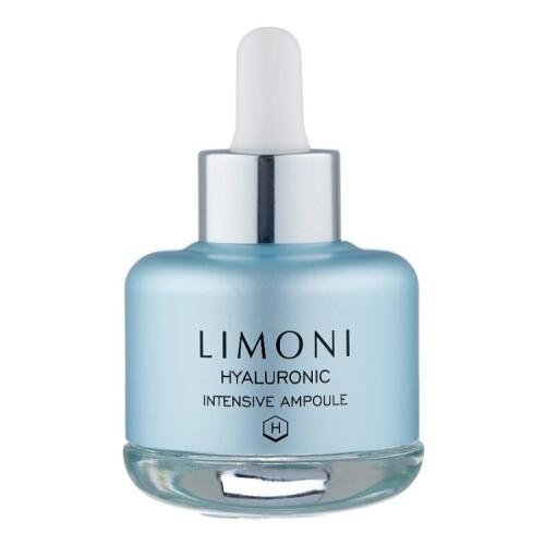 Limoni Cыворотка для лица ультраувлажняющая с гиалуроновой кислотой  Hyaluronic Intensive Ampoule 25 ml