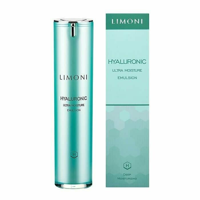 Limoni Hyaluronic Ultra Moisture Emulsion Глубоко увлажняющая эмульсия для лица с гиалуроновой кислотой