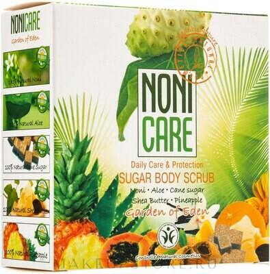 NONI CARE Сахарный скраб для тела c АНА – кислотами 200, мл (артикул 9336)