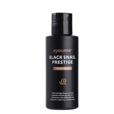 АЮМ Black Snail  Маска для волос с муцином улитки AYOUME BLACK SNAIL PRESTIGE TREATMENT 100ml