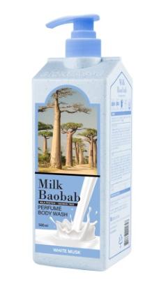 MB PWS Гель для душа MilkBaobab Perfume Body Wash White Musk 500мл