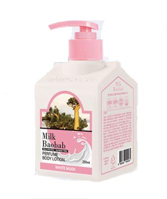 MB PWS Лосьон для тела MilkBaobab Perfume Body Lotion White Musk, 250 мл.