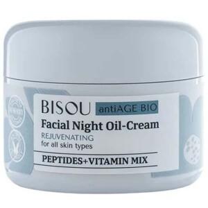 Bisou ночной oil-крем восстанавливающий для всех типов кожи, 50 мл