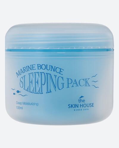 Ночная маска с морским коллагеном, 100мл, The Skin House