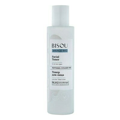 BISOU Тонер для лица Мультивитамин для всех типов кожи, 150 мл