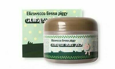 Elizavecca Маска для лица ЛИФТИНГ/КОЛЛАГЕН Green Piggy Collagen Jella Pack, 100 мл