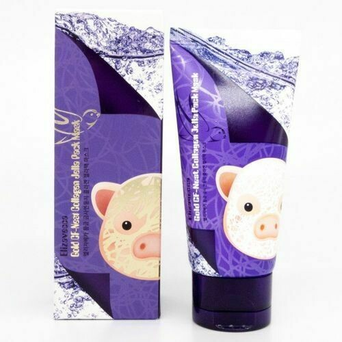 Elizavecca маска-пленка для лица ЛАСТОЧКИНО ГНЕЗДО/КОЛЛАГЕН Gold CF-Nest Collagen Jella Pack, 80