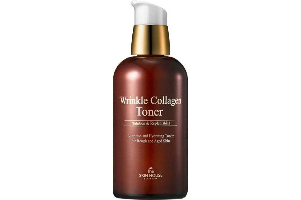 "Антивозрастной тонер с коллагеном ""Wrinkle Collagen"", 130мл, The Skin House"