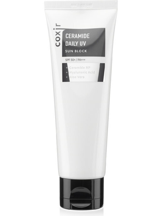 COXIR Ceramide Солнцезащитный крем Ceramide Daily UV Sun Block 80ml