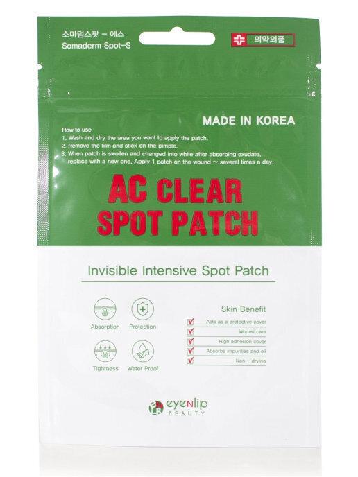 ENL AC Маски-патчи для проблемной кожи AC CLEAR SPOT PATCH 24шт