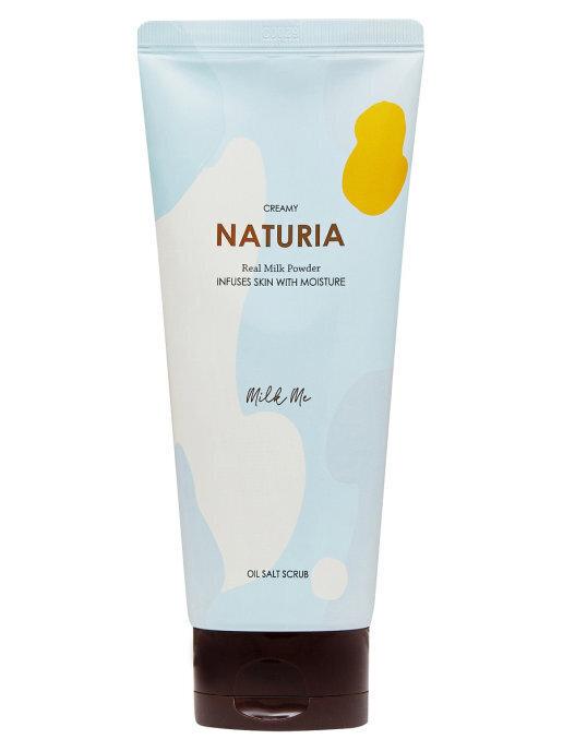 [NATURIA] Скраб для тела МОЛОЧНЫЙ Creamy Oil Salt Scrub Milk Me, 250 гр