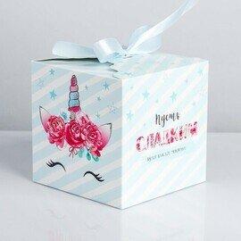 Коробка подарочная Единорог