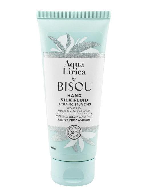 Флюид-шелк для рук BISOU Aqua Lirica ультраувлажнение 60 мл