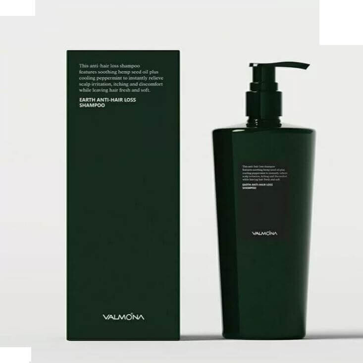 [VALMONA] Шампунь для волос ПРОТИВ ВЫПАДЕНИЯ Earth Anti-Hair Loss Shampoo, 500 мл