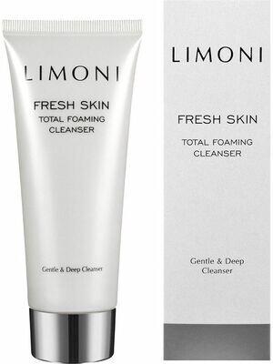LIMONI Пенка для глубокого очищения кожи Total Foaming Cleanser 100 мл.