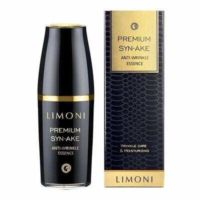 Limoni Premium Syn-Ake Anti-Wrinkle Essense Антивозрастная эссенция для лица с пептидом змеиного яда