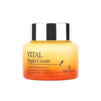 "Витаминизированный осветляющий крем ""VITAL BRIGHT"", 50ml, THE SKIN HOUSE"