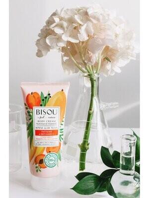 BISOU Крем для тела Питание и витамин С, стимулирует выработку коллагена, 200 мл