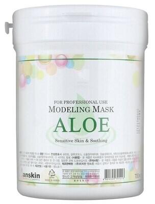 АН Original Маска альгинатная с экстрактом алоэ успокаивающая (банка) 700мл Aloe Modeling Mask