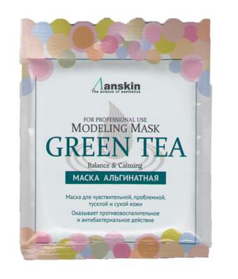 АН Original Маска альгинатная с экстр. зел.чая усп. (саше) 25гр Green Tea Modeling Mask 25гр