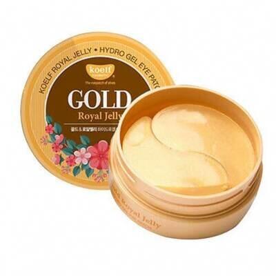 PETITFEE Патчи для глаз гидрогелевые с маточным молочком Koelf Gold & Royal Jelly Eye Patch 1,4гр*6