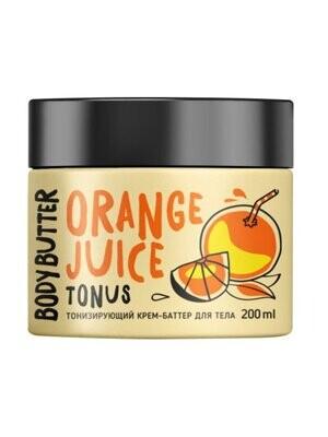Крем-Баттер для тела Тонизирующий (апельсин), 200 мл