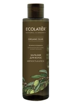 Бальзам д/волос Мягкость & Блеск 250мл Organic Olive Ecl Green