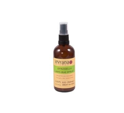 Спрей Levrana от комаров и насекомых Citronella Anti-Bug Spray
