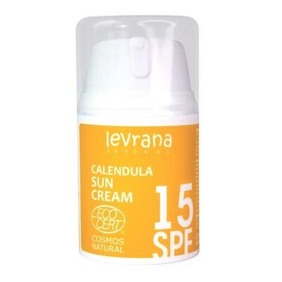 Levrana Матирующий крем для лица «Календула 15 SPF», 50 мл