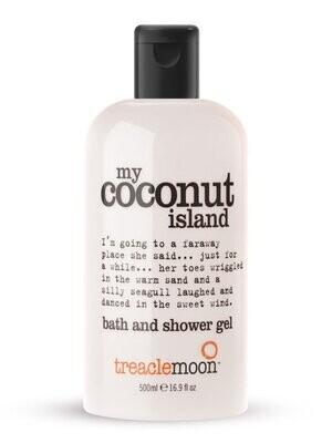 """Treaclemoon, Гель для душа Кокосовый Рай """"My Coconut Island"""", 500 мл"""