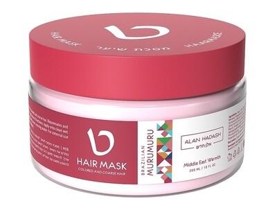 "МАСКА для волос ""Brazilian Murumuru"" 300 мл ТМ ""Alan Hadash"""