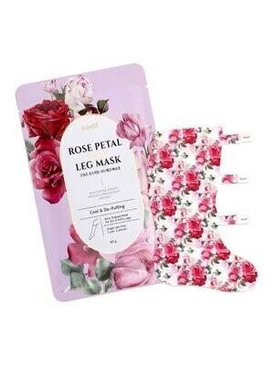 Koelf Маска для ног Rose Petal Satin Foot Mask