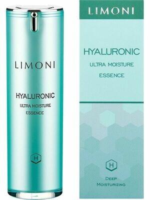 Limoni Эссенция ультраувлажняющая для лица с гиалуроновой кислотой  Hyaluronic Ultra Moisture Essence 30 ml
