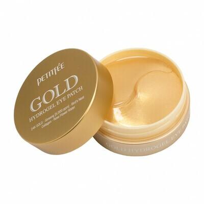 Гидрогелевые патчи для век с золотом PETITFEE Gold Hydrogel Eye Patch