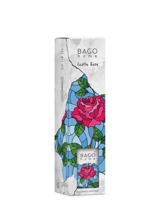 BAGO home Ароматический диффузор Замковая роза 110 мл