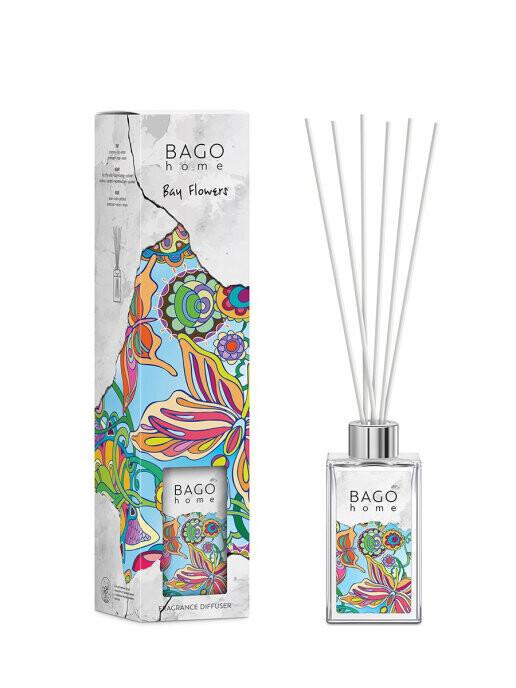 BAGO home Ароматический диффузор Лавровые цветы 110 мл